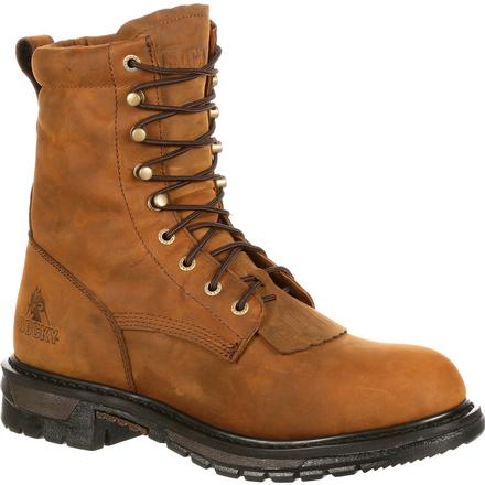 Rocky Original Ride Waterproof Lacer Western Boots, , large