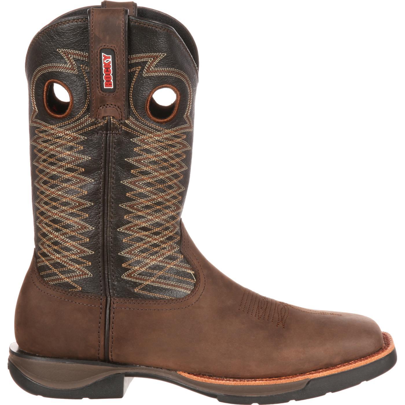 Rocky Lt Men S Lightweight Western Boot Style Rkw0138
