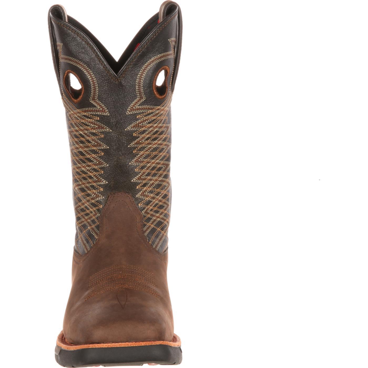 e306642b0ee Rocky LT Steel Toe Western Boot