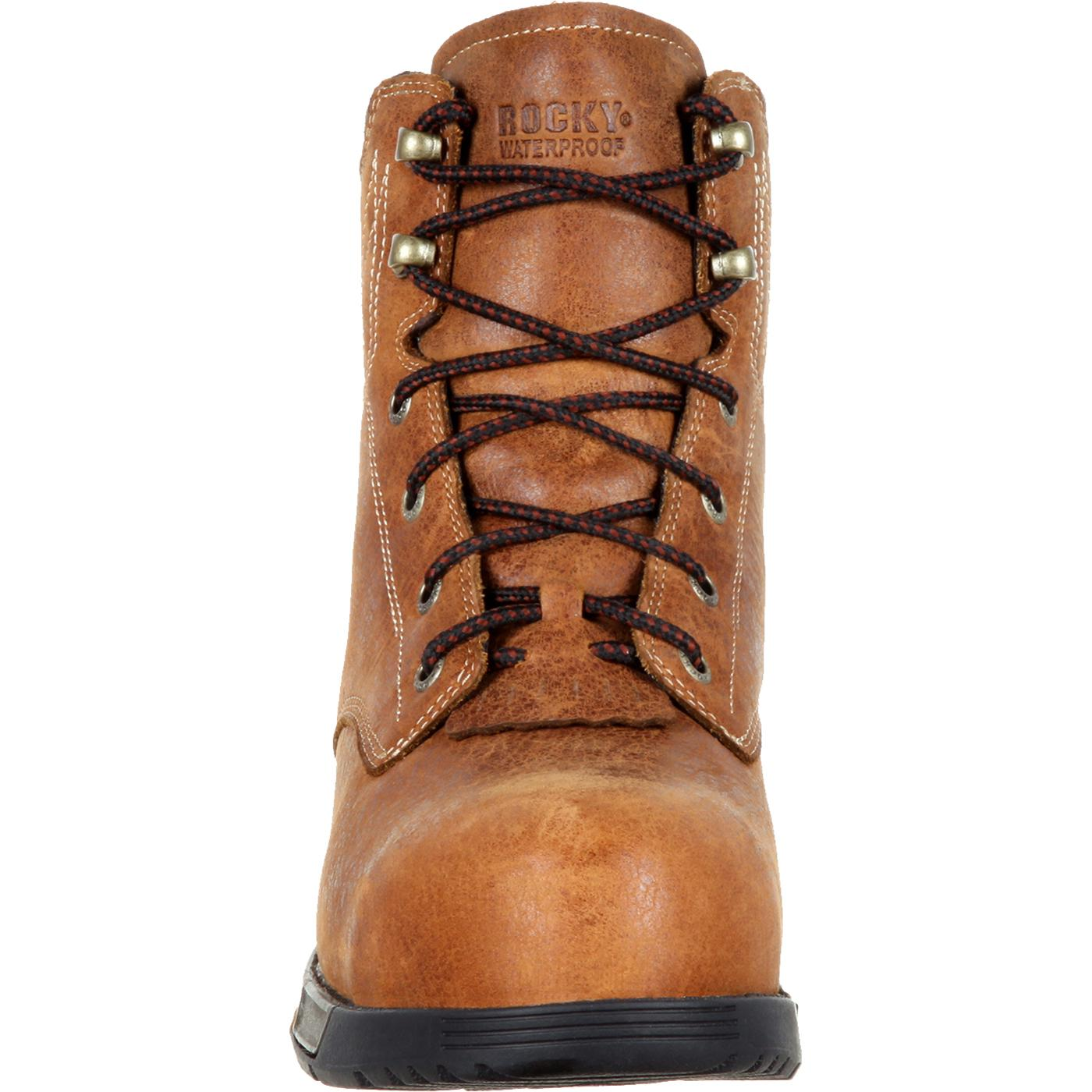 Images. Rocky Aztec Women s Composite Toe Waterproof Lace-up Work Boot ... 899502f00