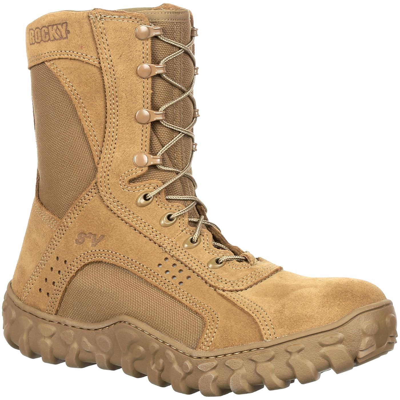 Rocky S2V: Steel Toe Tactical Military Boot, style RKC053