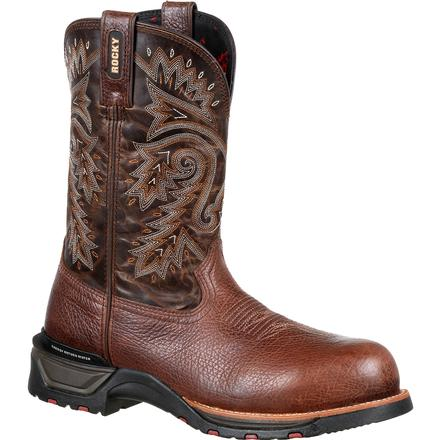 Rocky Technoram Composite Toe Waterproof Western Boot, , large