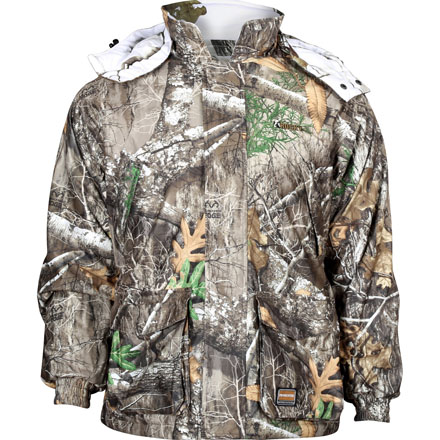Rocky ProHunter Reversible Parka, Realtree Edge/Snow, large