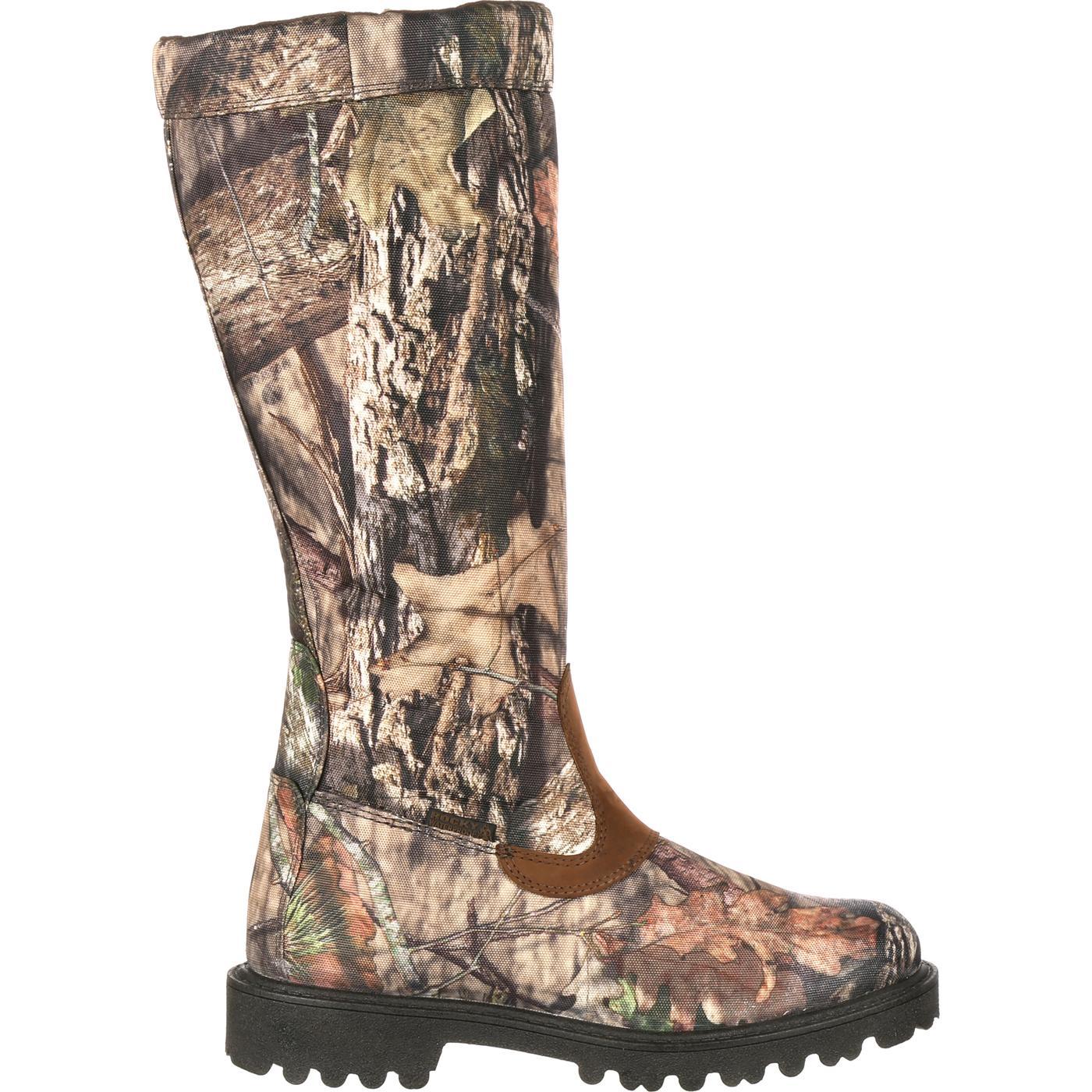 3ea9b1d8895b3 Rocky Low Country Waterproof Camo Snake Boots, #RKS0232
