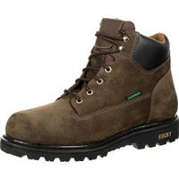 Rocky 6-in Waterproof Lace Up Work Boot, , medium