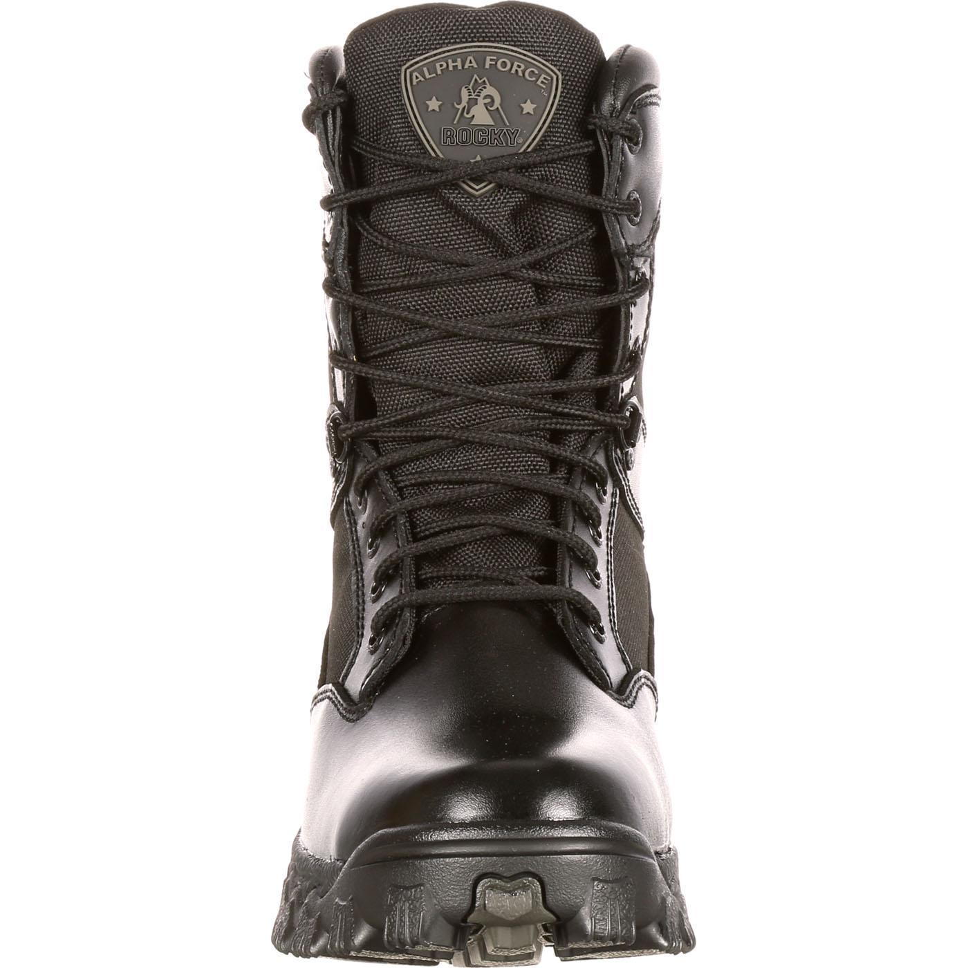 db05756bcae Rocky Alpha Force Women's Waterproof Public Service Boot