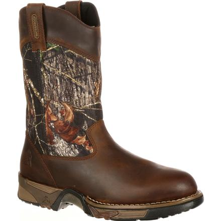 Rocky Aztec Waterproof Camo Pull-On Boots, , large