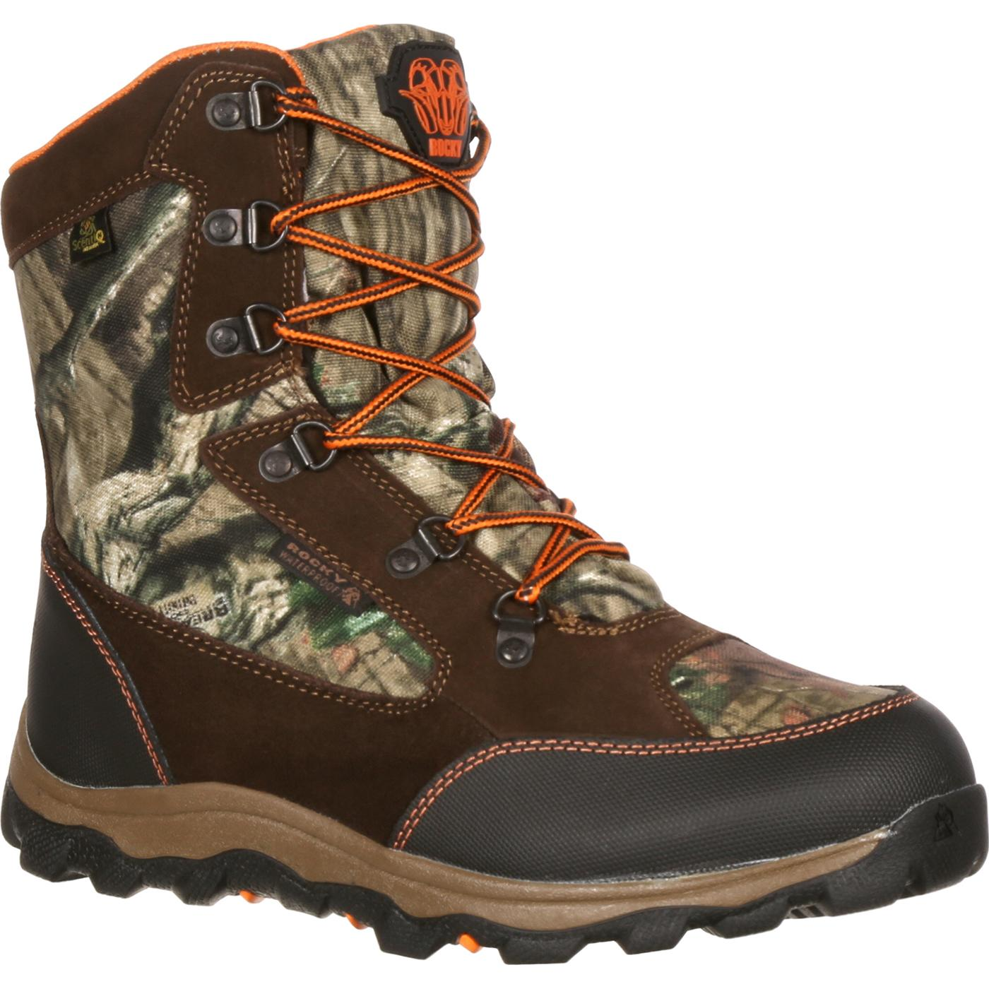 0051e7433 Rocky Kids  R.A.M. Waterproof Insulated Camo Boot