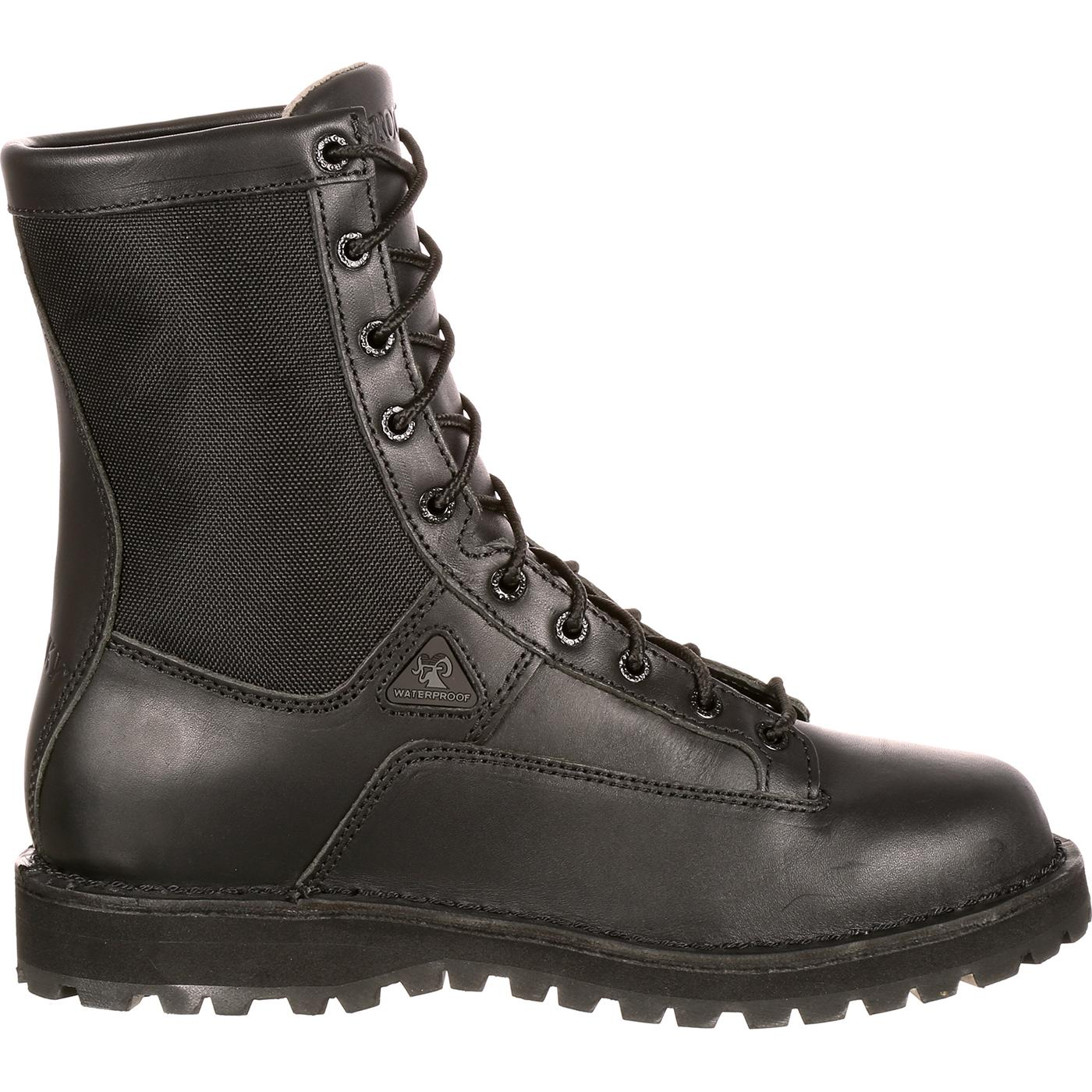 Rocky Men S 8 Quot Portland Lace To Toe Waterproof Duty Boot