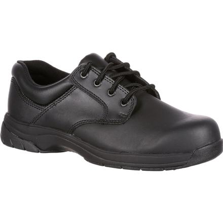 Rocky SlipStop 911 Plain Toe Oxford Shoe, , large