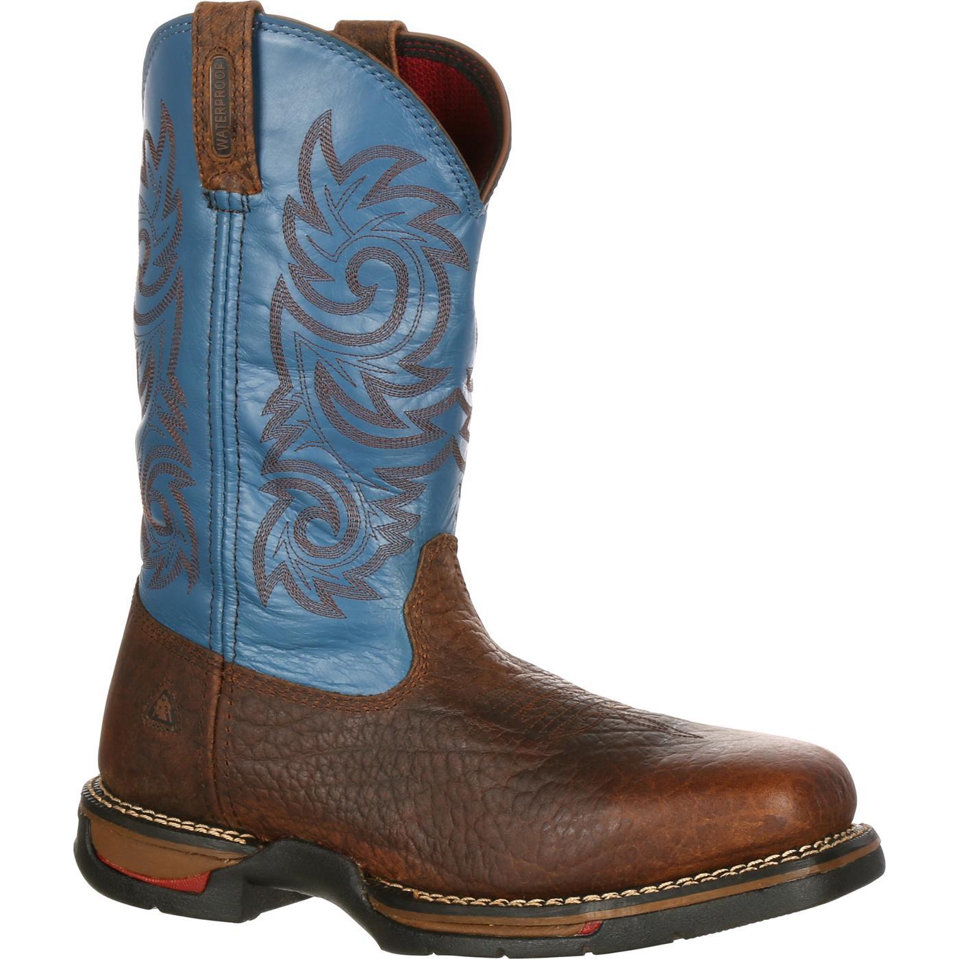 7da5b2a55c5 RW028 Rocky Long Range Carbon-Fiber Toe Waterproof Western Work Boots