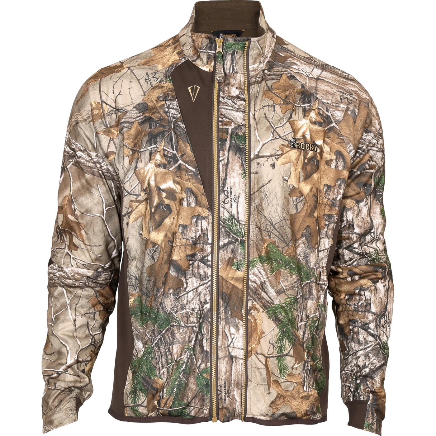 9785ab4ac36e0 Rocky Broadhead - Camo Archer Fit Silent Hunting Jacket