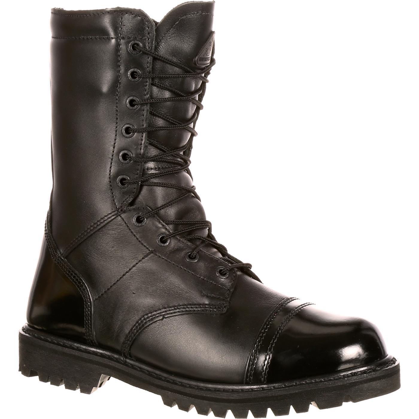 Rocky Men S Waterproof Zipper Paratrooper Boots Fq0002095