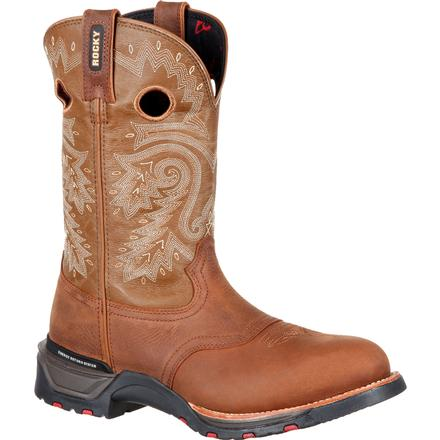 Rocky TechnoRam Saddle Western Boot, , large