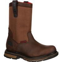 Rocky Hauler Waterproof Pull-On Work Boot, , medium