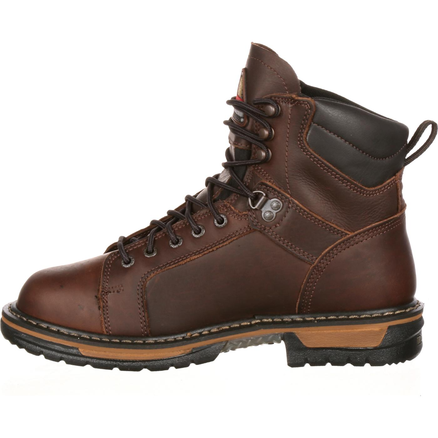 af2e2a293a5 Rocky IronClad Waterproof Lace To Toe Work Boots