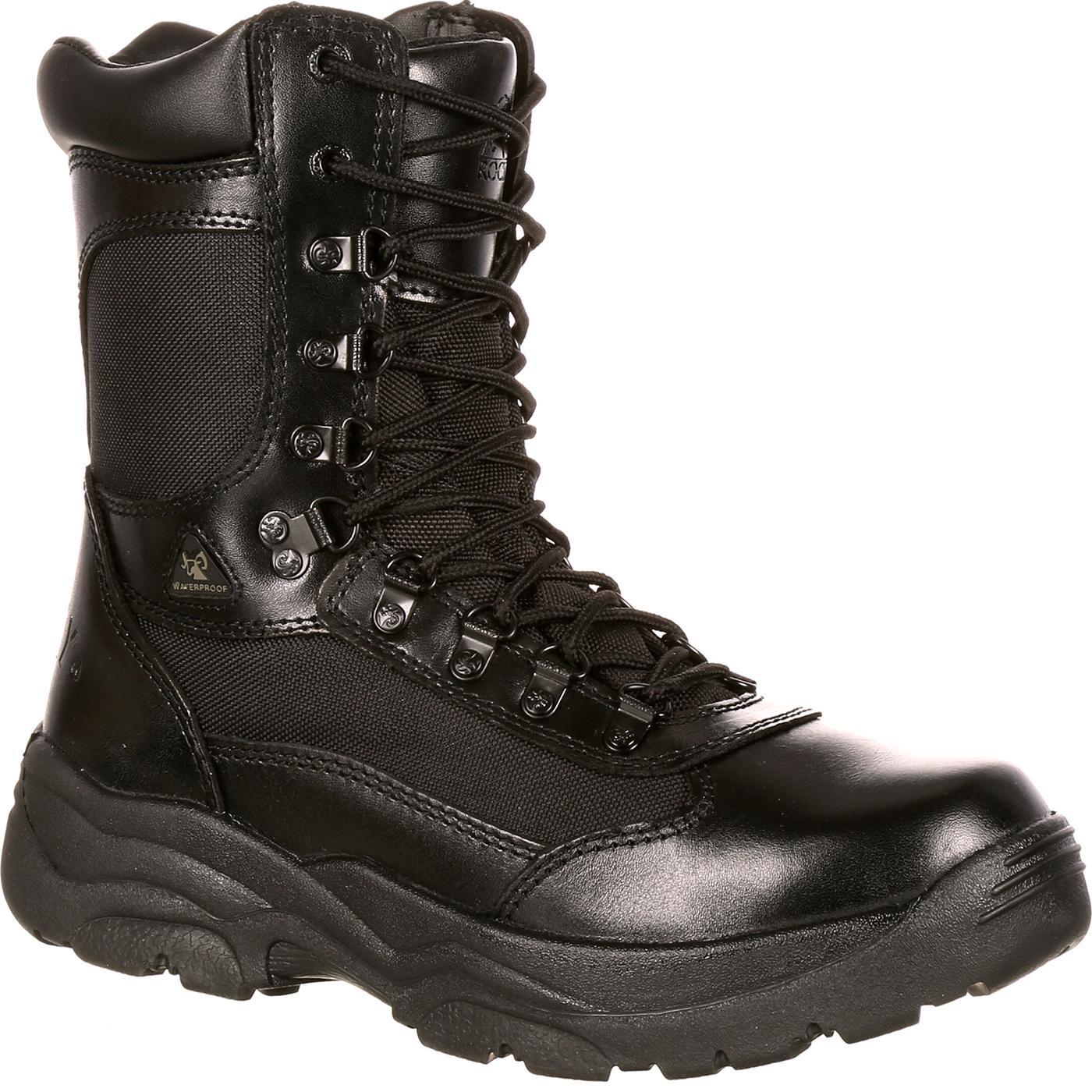 Rocky Fort Hood Zipper Waterproof Duty Boot, , large