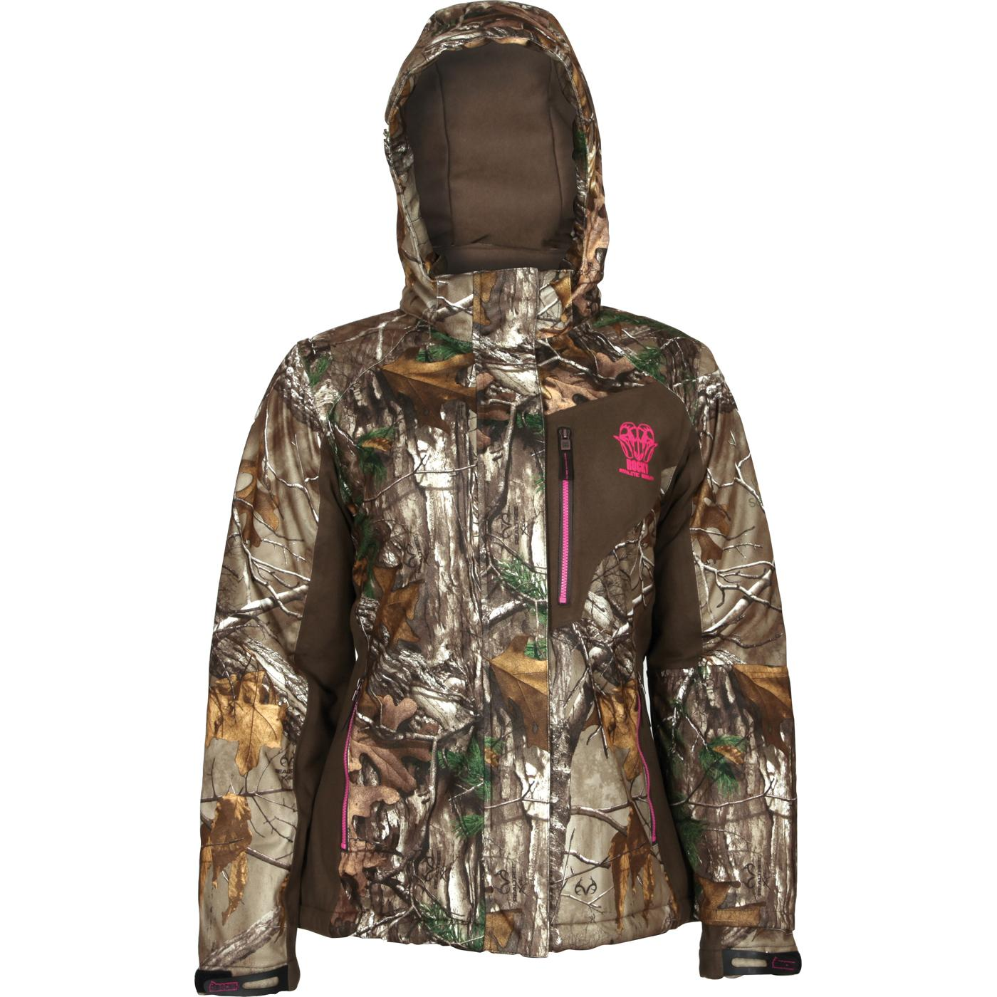 0cc3f2b7fdba1 Rocky Athletic Mobility Women's Level 3 Waterproof Insulated Parka, ,  large. Women's waterproof insulated camouflage coat