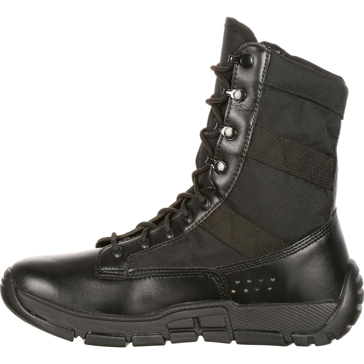 Rocky C4T - Men s Military Inspired Black Duty Boots d9c4fb57c8d0