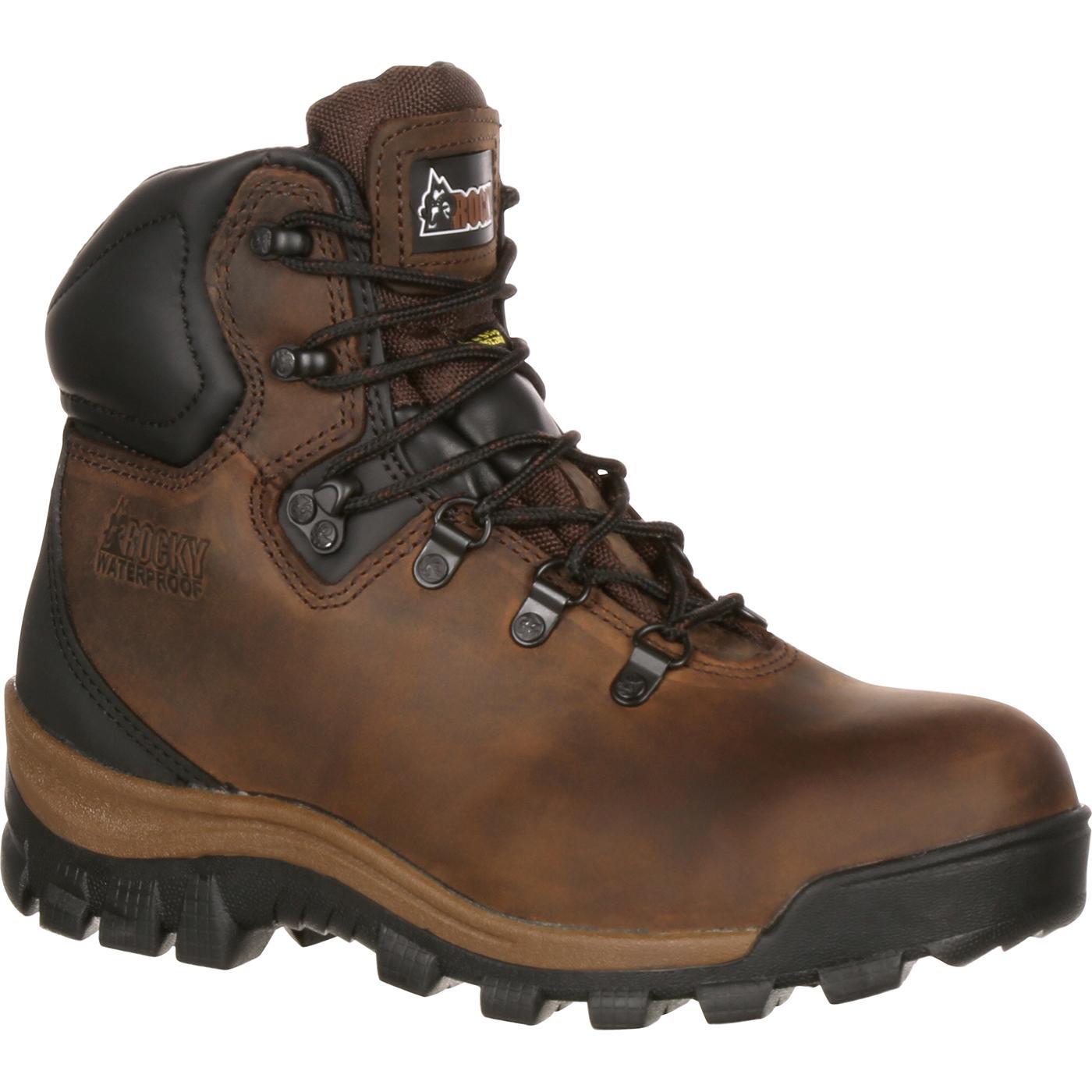 1fde4f0a1f9 Rocky Core Women's Steel Toe Waterproof Work Hiker