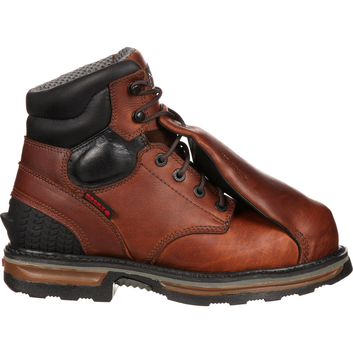 341f13c981f Rocky Elements Steel Waterproof Steel Toe Met-Guard Work Boot