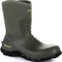 Rocky Core Chore Olive Rubber Outdoor Boot, , medium