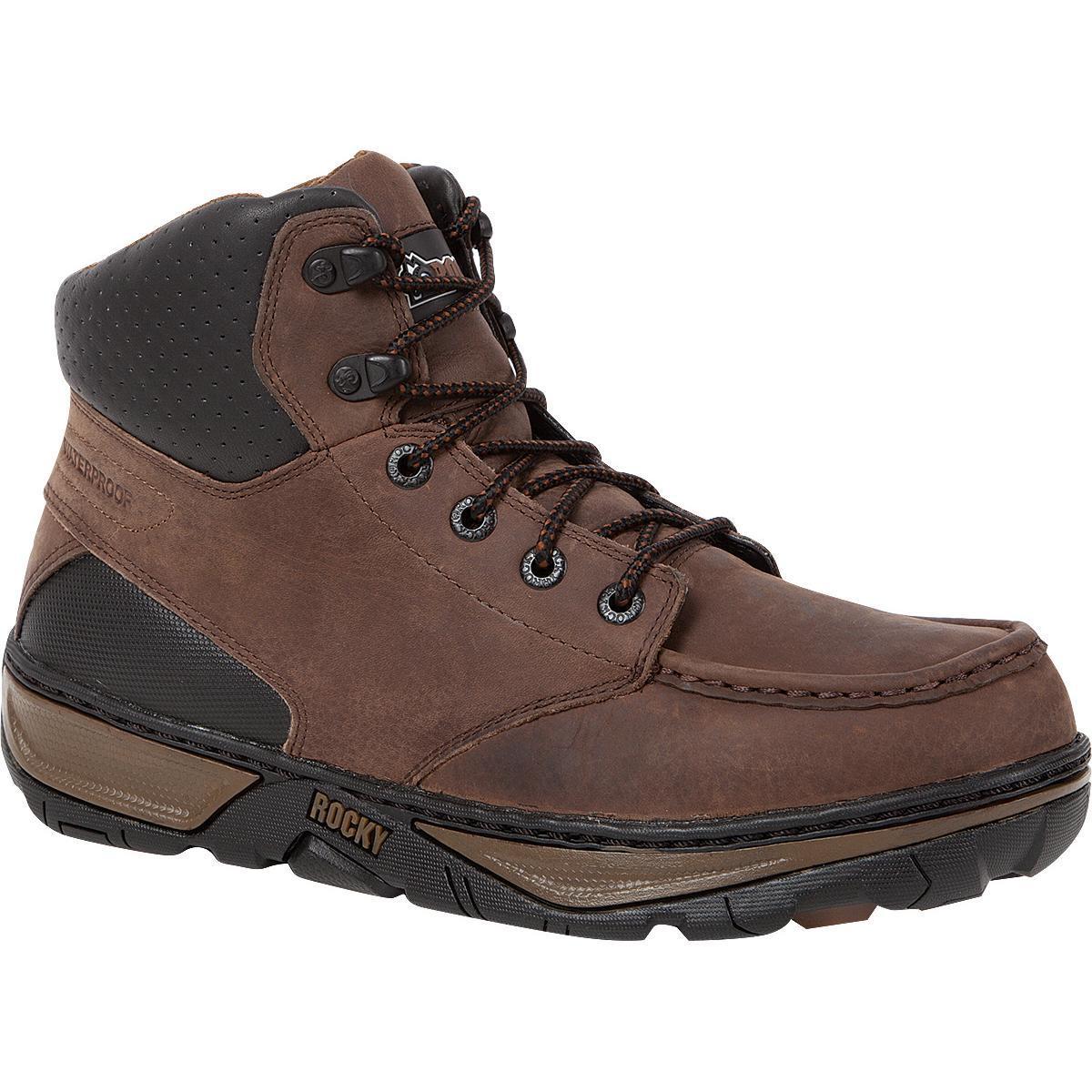 Rocky Forge Steel Toe Moc Toe Waterproof Work Boot, , large