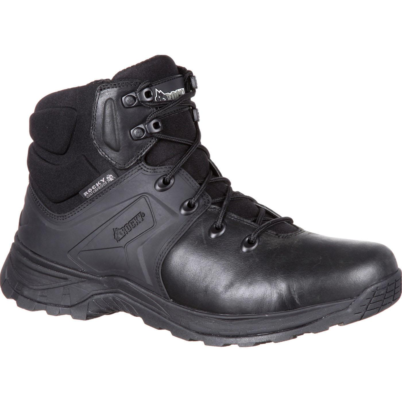 Rocky Alpha Tac Black 6 Quot Waterproof Duty Boot