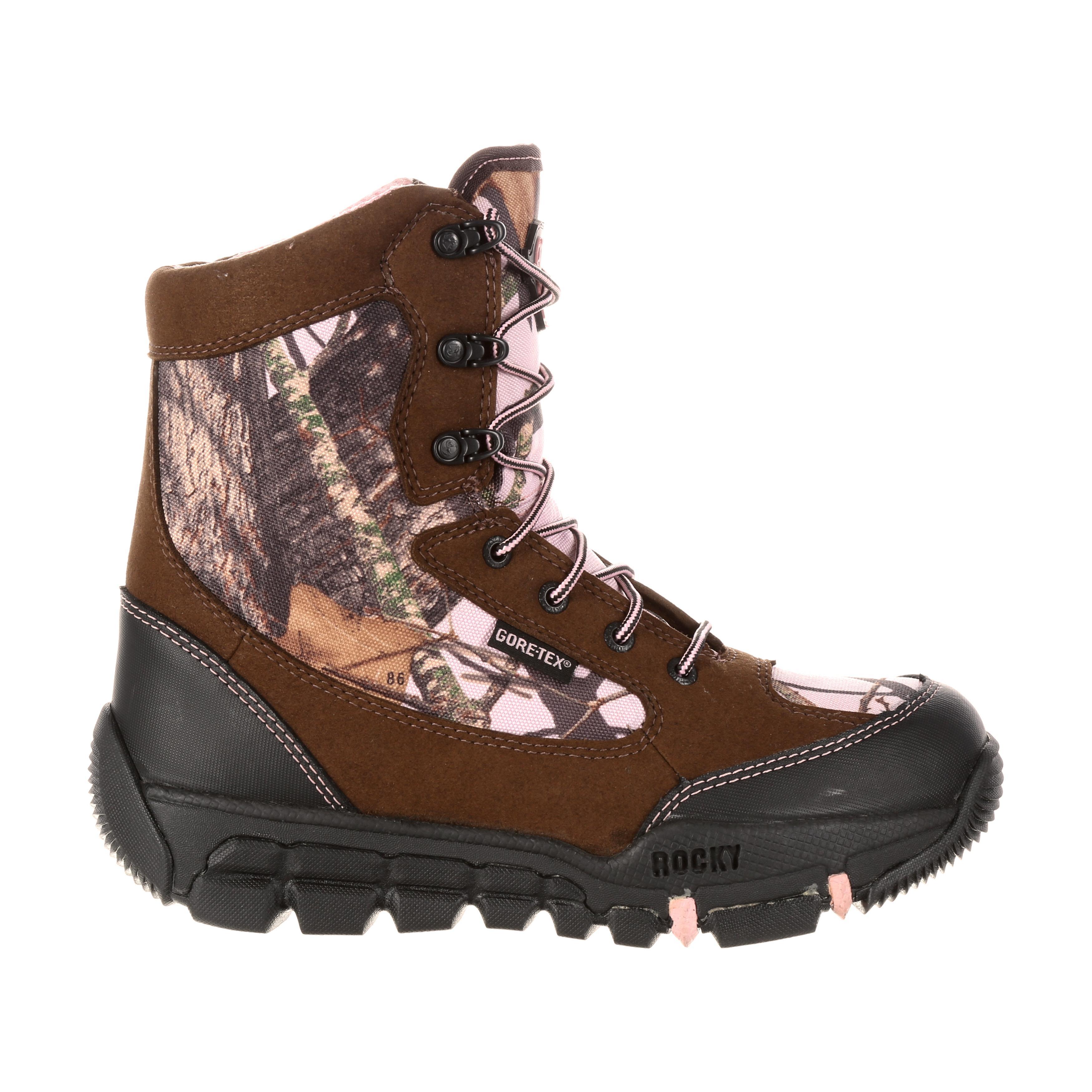 Rocky Women Gore Tex Waterproof Insulated Camo Outdoor Boot
