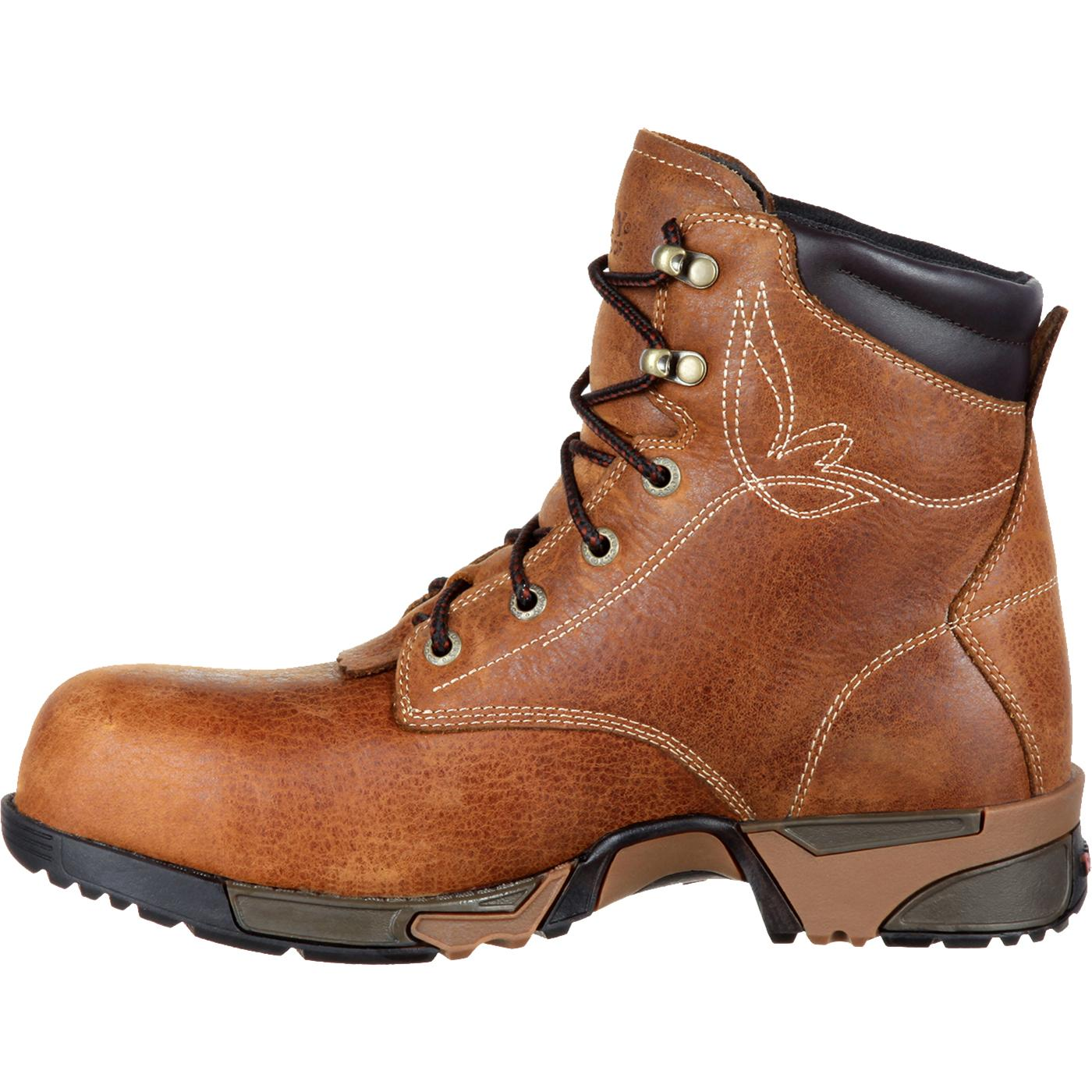 8173239619e Rocky Aztec Women's Composite Toe Waterproof Lace-up Work Boot