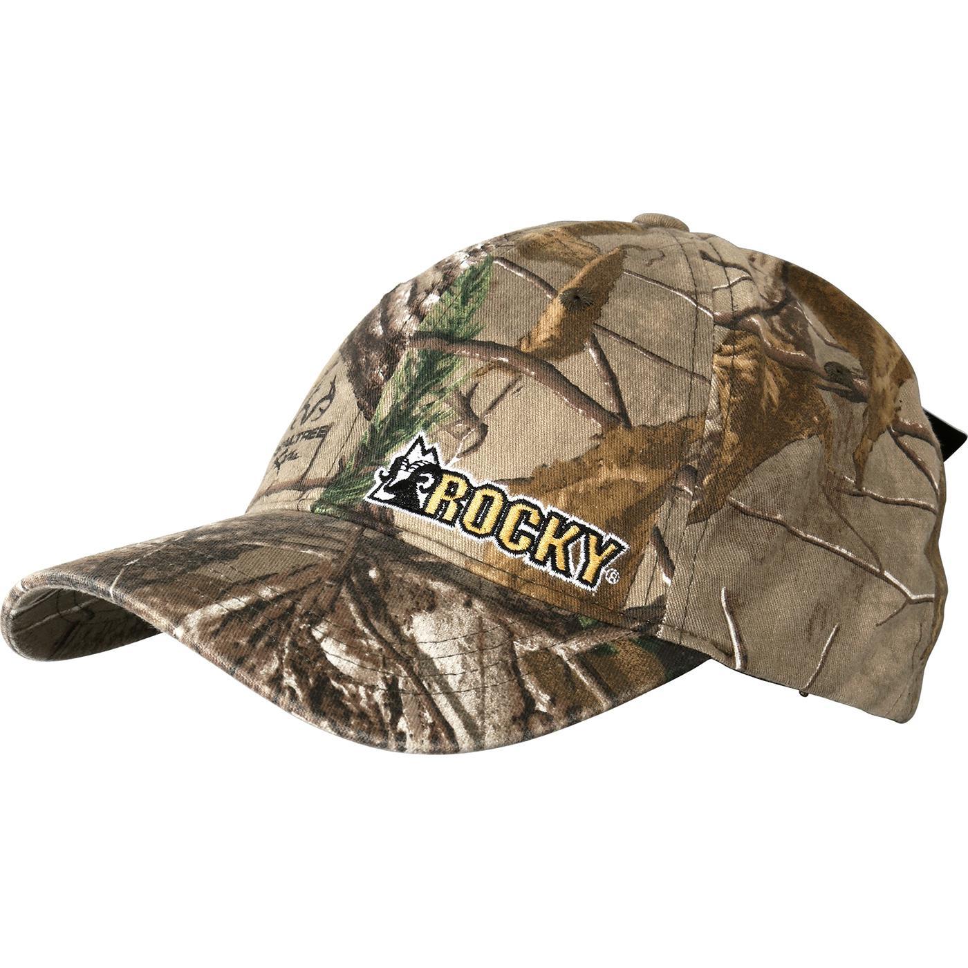 Rocky Boots Camouflage Men S Flex Fit Ball Cap Lw00050