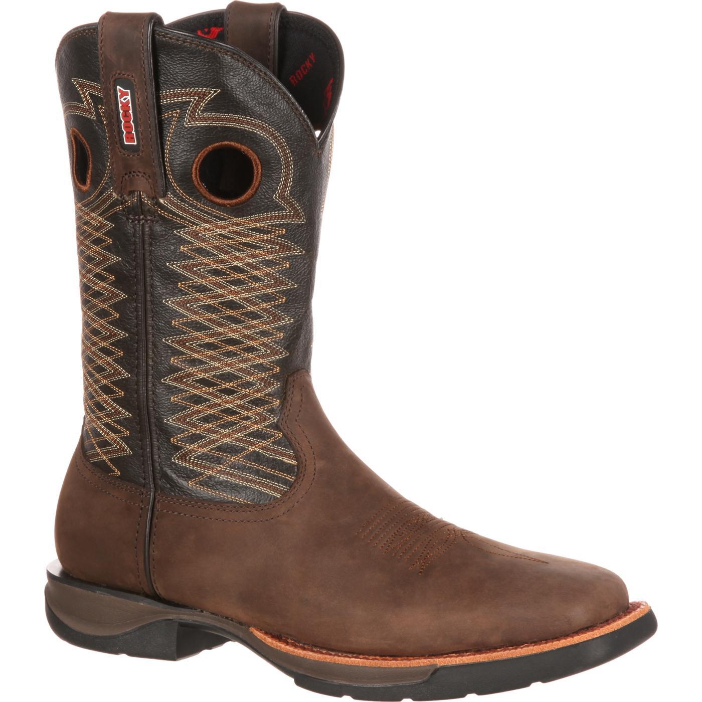 Rocky LT: Men's Lightweight Western Boot, style RKW0138