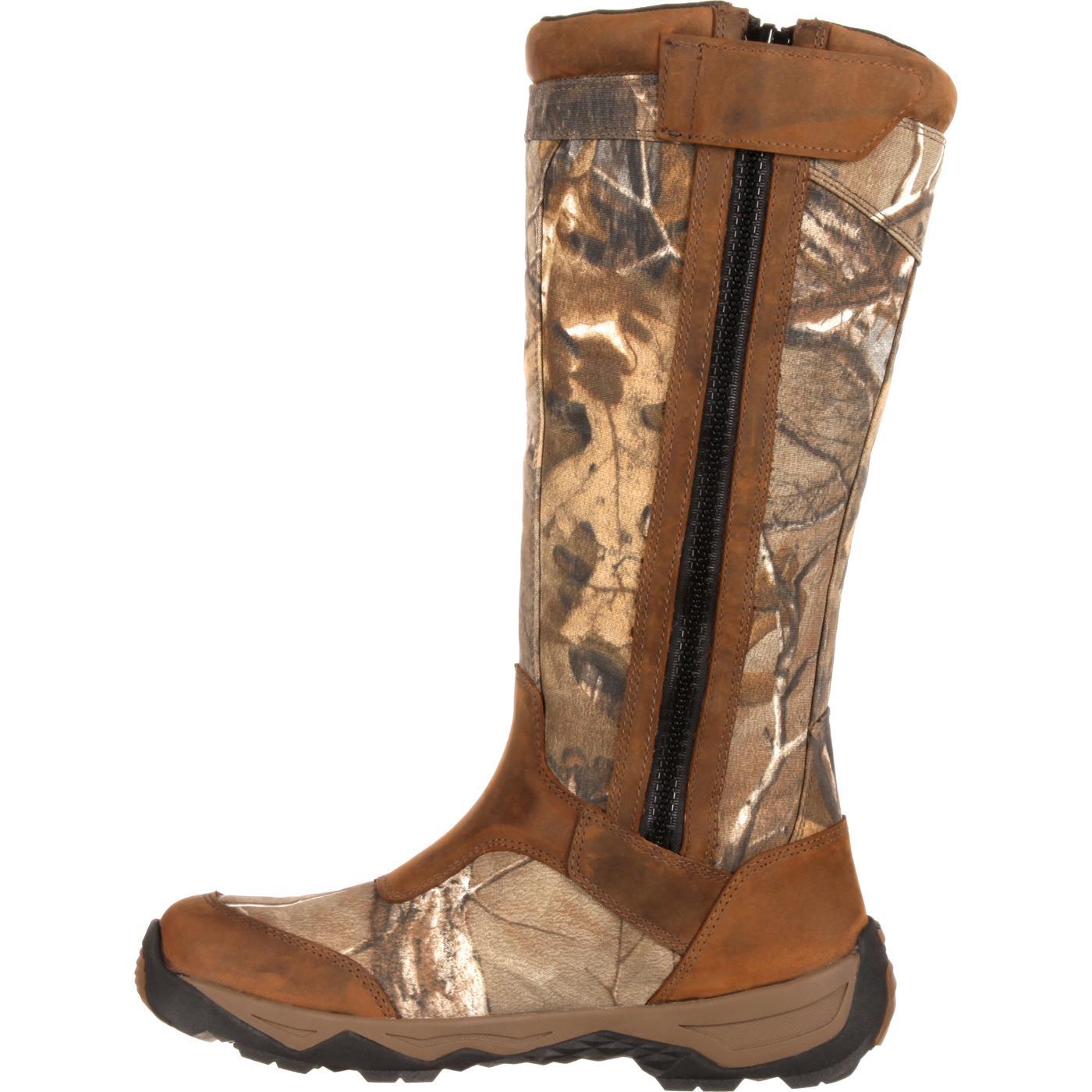 5ca88207ca1 Rocky Retraction Waterproof Side-Zip Snake Boot
