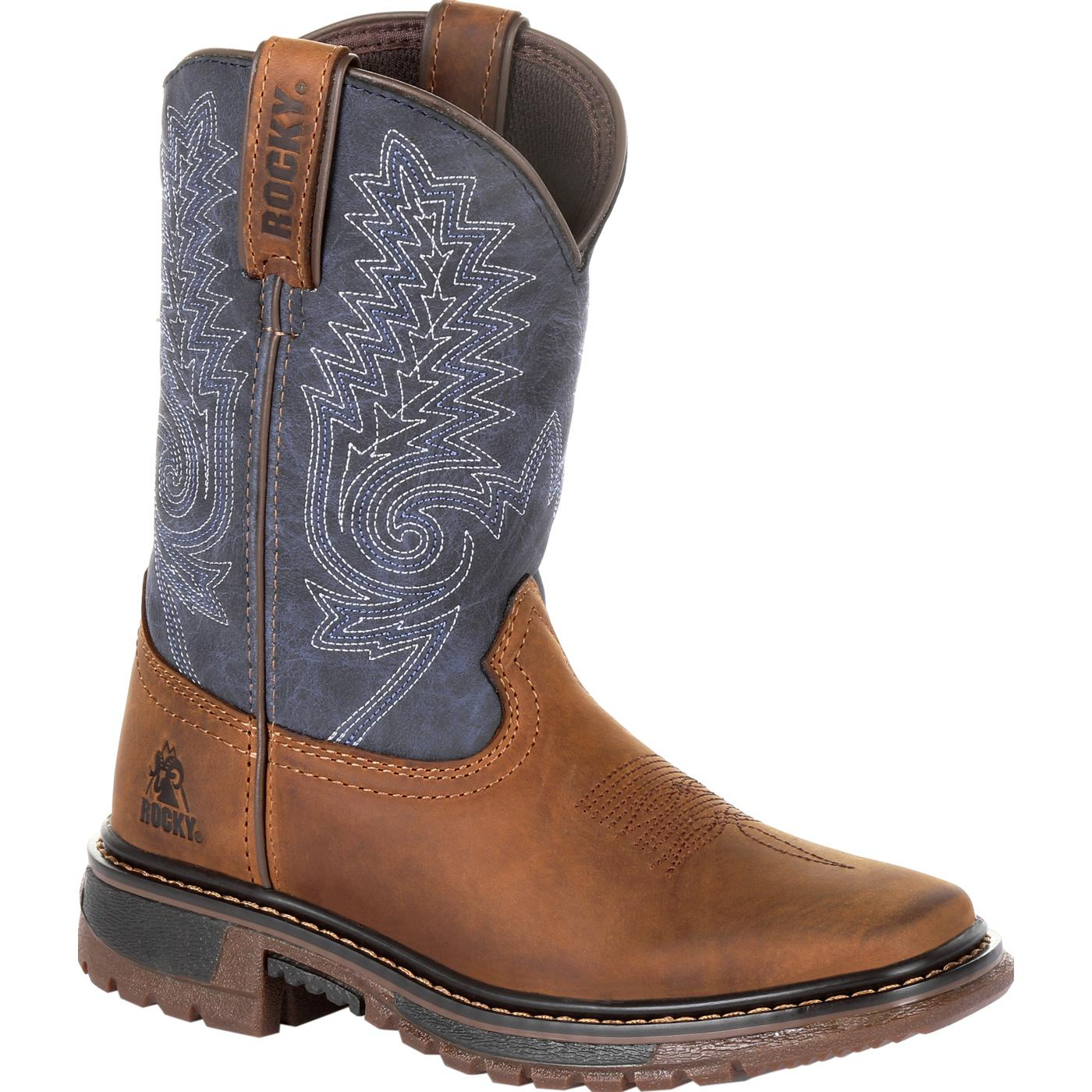 93976cffd4 Rocky Kids  Ride FLX  Western Boot