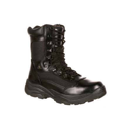 7c996c82275 Rocky Fort Hood Zipper Waterproof Public Service Boot