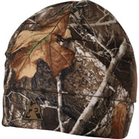 Rocky ProHunter Reversible Fleece Beanie, Blaze RealTree Edge, medium
