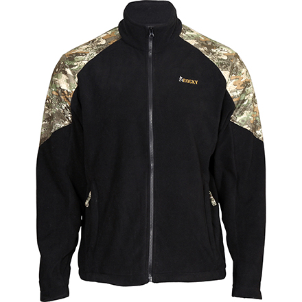 Rocky Full Zip Fleece Camo Jacket, , large