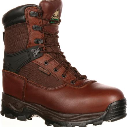 Rocky Sport Utility Pro Steel Toe Waterproof 600G Insulated Work Boot, , large