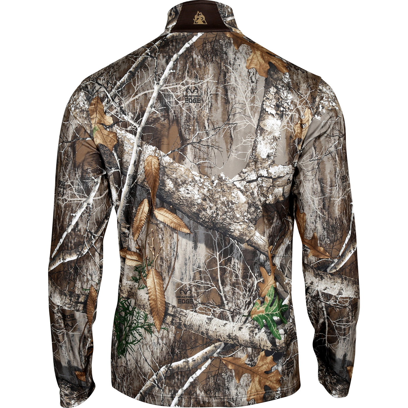 4f75875cca0d3 Images. Rocky Camo Fleece Zip Shirt, Realtree Edge ...