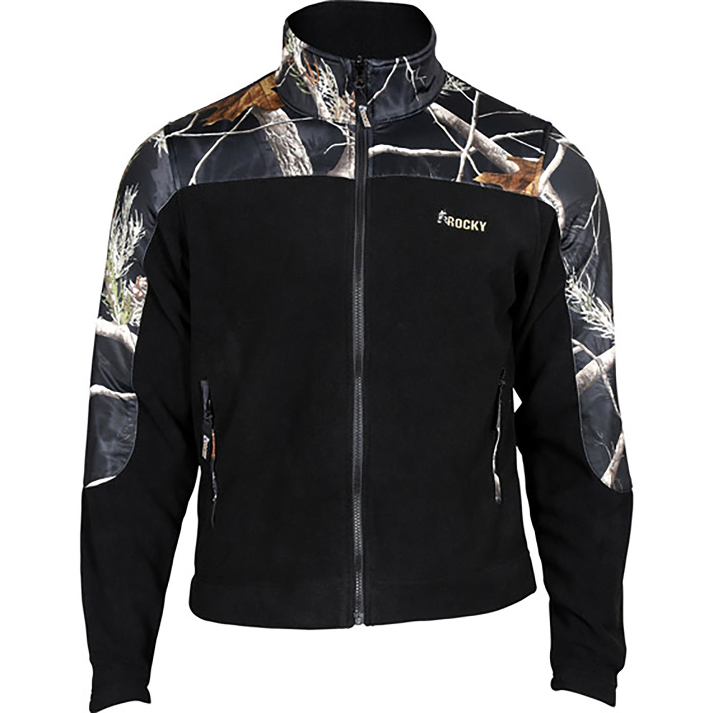 Rocky Casual Lifestyle Brown and Camo Fleece Jacket, 609476