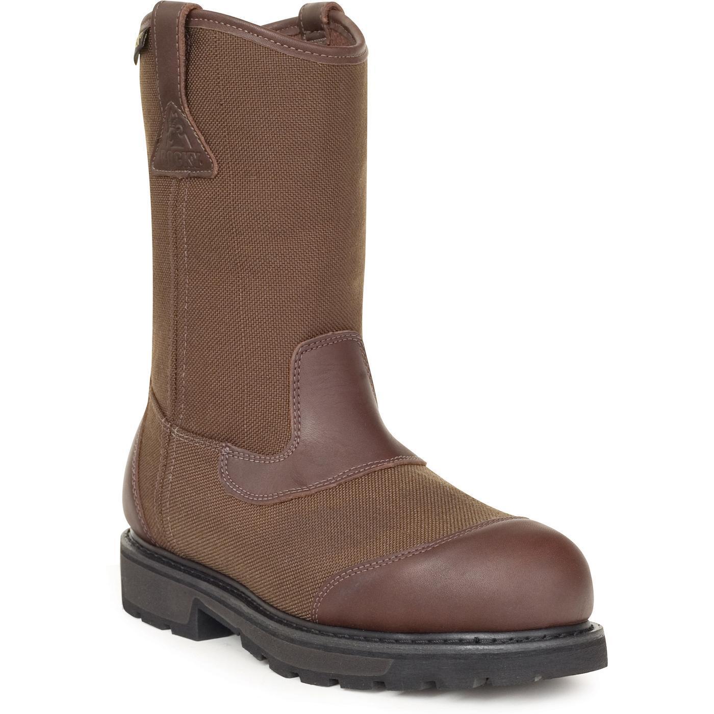 s work boots rocky steel toe waterproof wellington