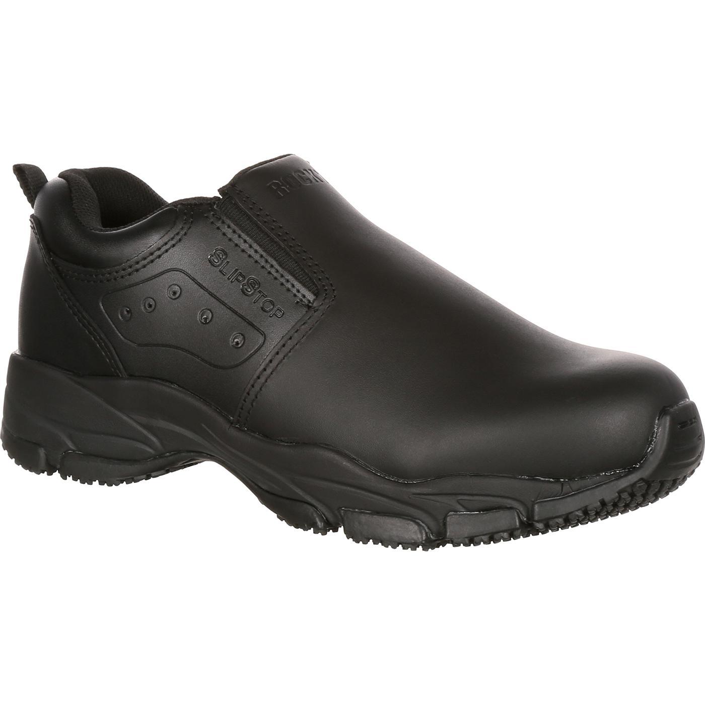 Rocky SlipStop Slip-On Duty Shoe, , large