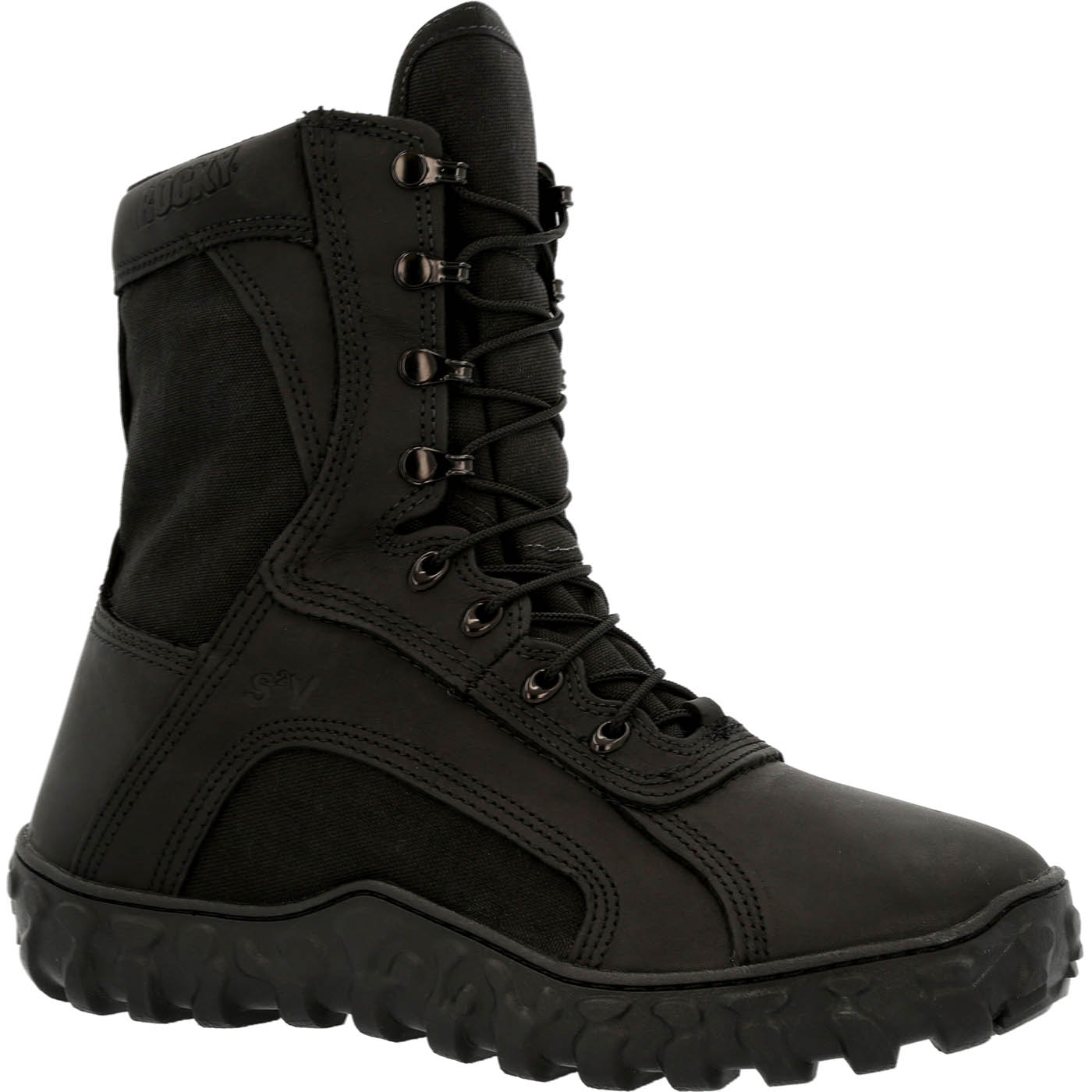 Rocky S2V: Black Waterproof Insulated Military Boot; RKC079