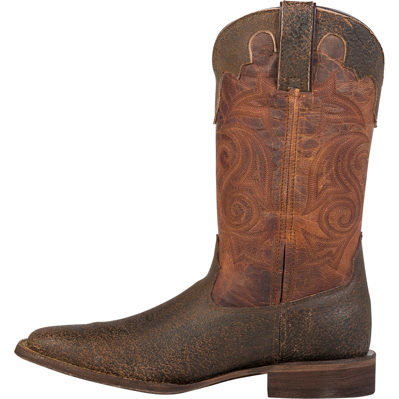 44ee5057ae8 Rocky HandHewn Square Toe Western Boot