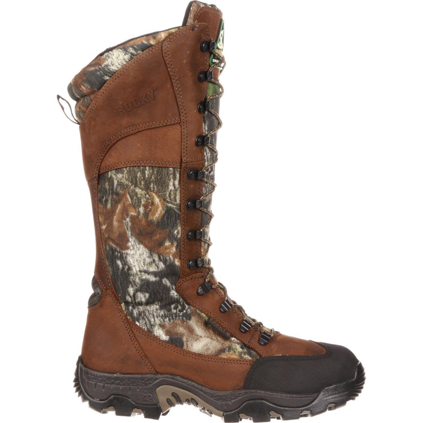 Rocky Classic Lynx Waterproof Side-Zip Snake Boot, FQ0007534
