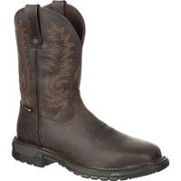 Rocky Original Ride FLX Steel Toe Waterproof Western Boot, , medium
