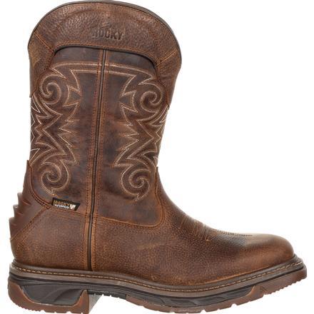 Rocky Iron Skull Western Work Boot