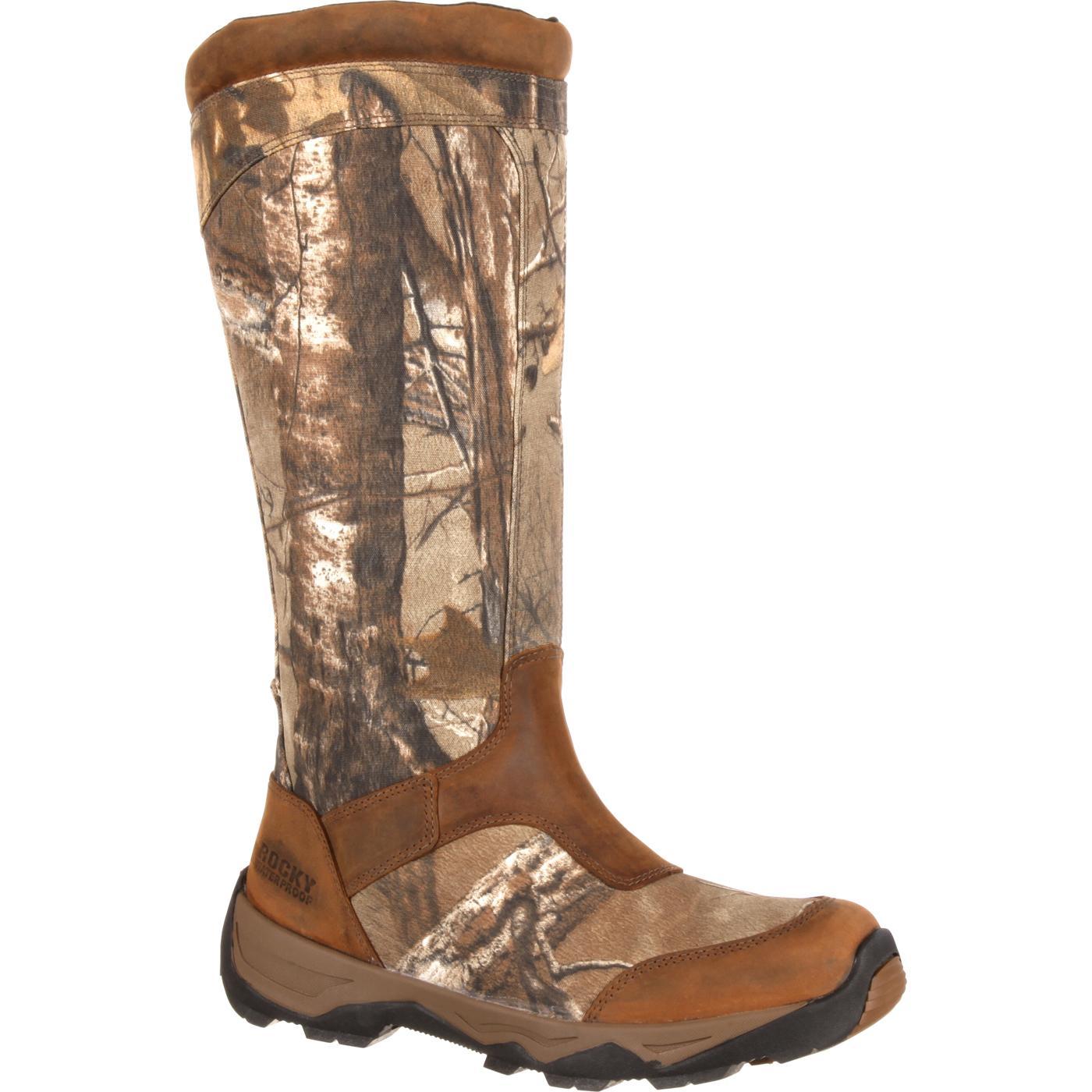 d54c9d39736b0 Rocky Retraction Waterproof Side-Zip Snake Boot
