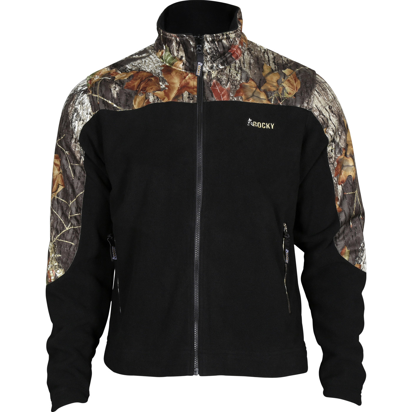 Rocky Casual Lifestyle Brown And Camo Fleece Jacket 609476