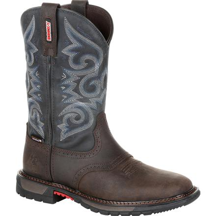 Rocky Original Ride FLX Women's Waterproof Western Boot, , large
